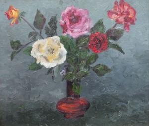 Małe róże -obraz
