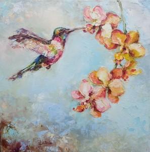 Kolorowy koliber-obraz