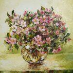Kwiaty jabłoni-obraz